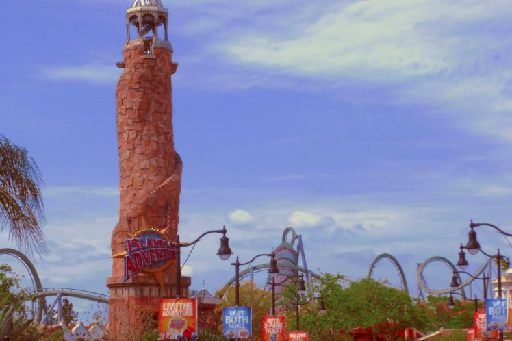 Islands of Adventure trip report - March 2013.